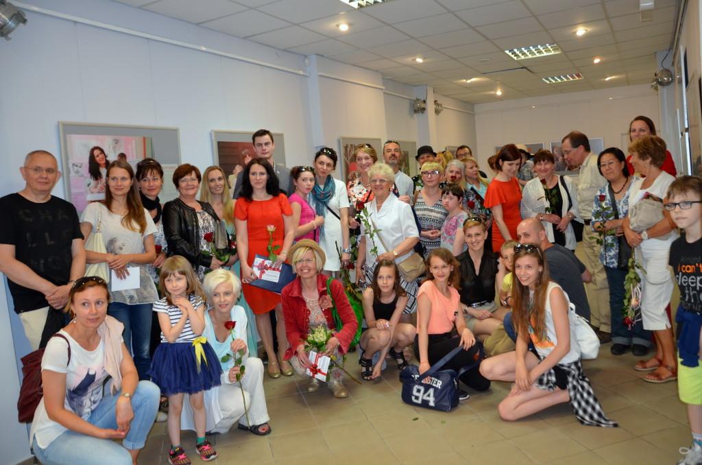 Goście i uczestniczki z dziećmi
